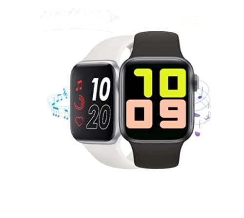 2021 nuevo reloj inteligente doble correa mujeres bluetooth llamada IP67 impermeable frecuencia cardíaca presión arterial adecuada para teléfono (verde)