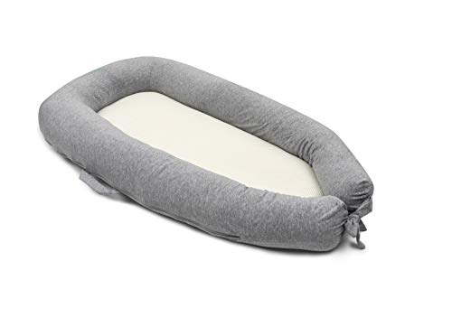 PurFlo Baby Breathable Sleep Nest MAXI 6-36M in Marl Grey