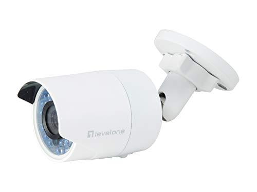 LevelOne FCS-5058 Feste IP-Netzwerk-Kamera, 2 Megapixel, 802.3af PoE, IR-LEDs, Innen / Außen