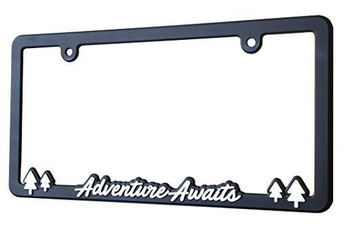 bear license plate frame - 3