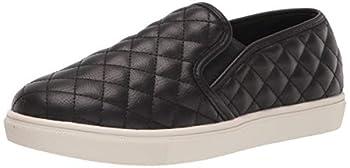 Steve Madden Women s Ecentrcq Slip-On Fashion Sneaker Black 8 M US