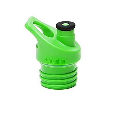 Klean Kanteen Sport Cap, Leak Resistant Water Bottle Cap with Safe and Soft Silicone Spout