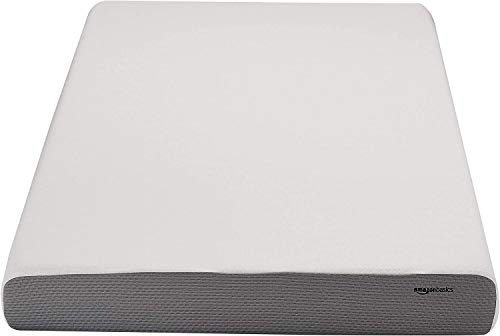 AmazonBasics 6-Inch Memory Foam Mattress - Soft Plush Feel, Twin