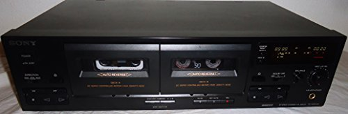 Sale!! Sony TC-WR445 Dual Cassette Tape Deck – Auto Reverse – DC Servo Controlled Motor High Density Head – Japan 1994