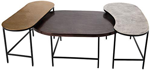 Amadeus Set de 3 Tables Basses Ali