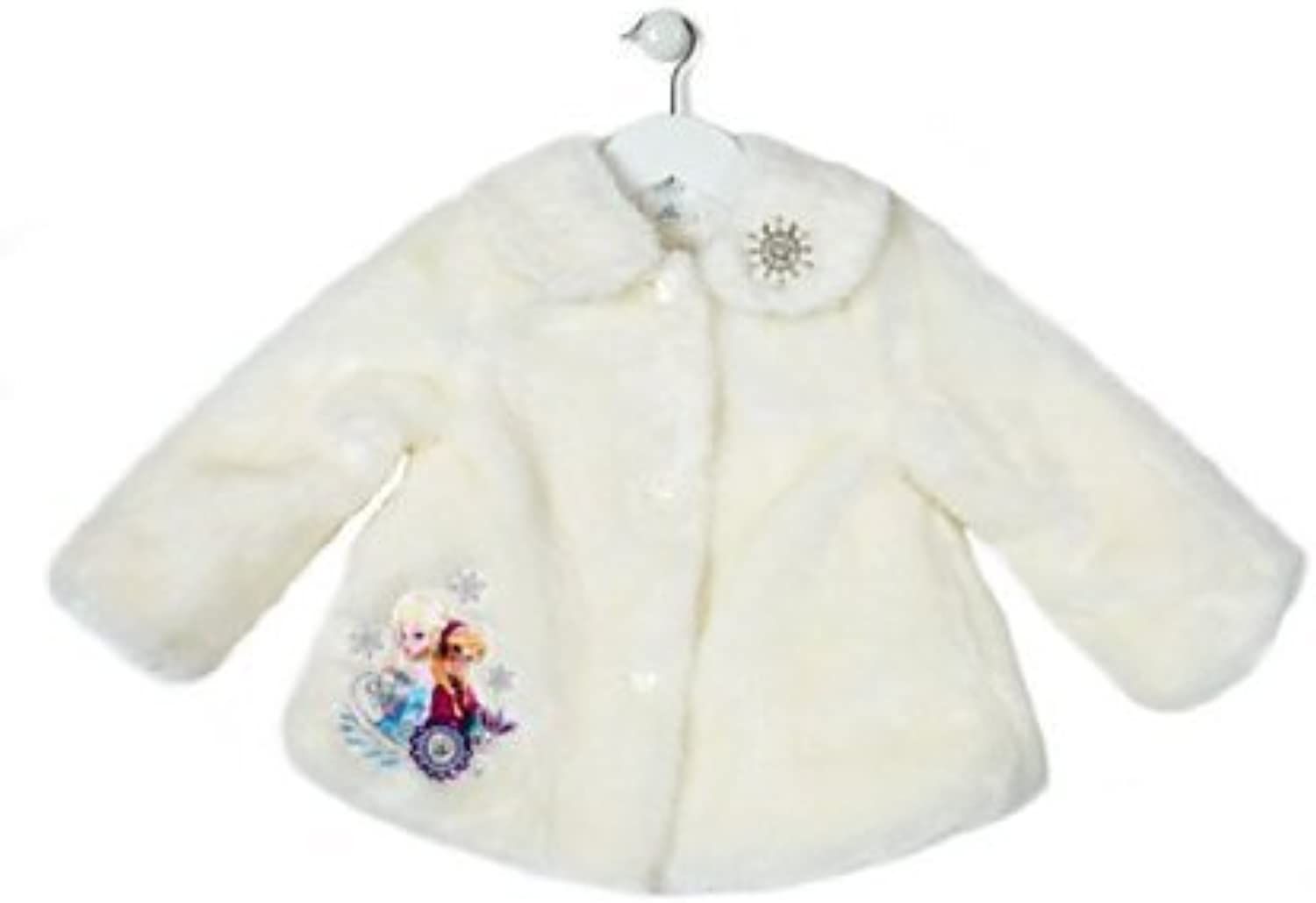 Frozen Winter Jacket For Kids, with an Anna and Elsa appliqué with embroidery (78 years)