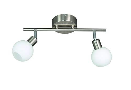 Action Deckenbalken, 2-flammig, Serie Nois, 2 x LED, 5 W, 6-6 V, Höhe 19 cm, Tiefe 46.5 cm, Kelvin 3