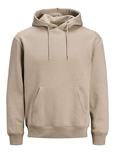 Jack & Jones Jjesoft Sweat Hood Noos suéter, Vajilla, XL para Hombre