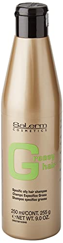 Salerm Cosmetics Greasy Hair Specific Oily Shampoo Champú - 250 ml
