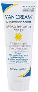 Vanicream Sunscreen Broad Spectrum SPF 35 Sport 4 Oz - by Vanicream