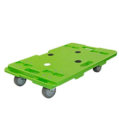 ZHHL Carretillas de plataforma, Carretilla de mano casera Camión de carro plegable Carretilla elevadora de transporte de cama plana resistente Jardín de la oficina 180kg-300kg (Tamaño : A)