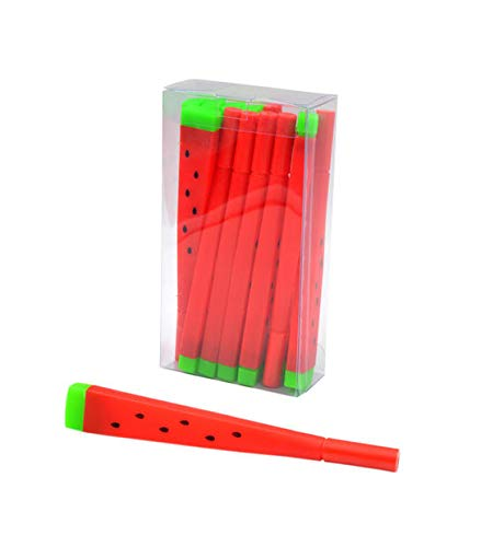 Bolígrafos sandia 12 unidades lote Decorativos Recuerdos Regalos Papelería.Detalles de Bodas, Comuniones, Bautizos, Cumpleaños.