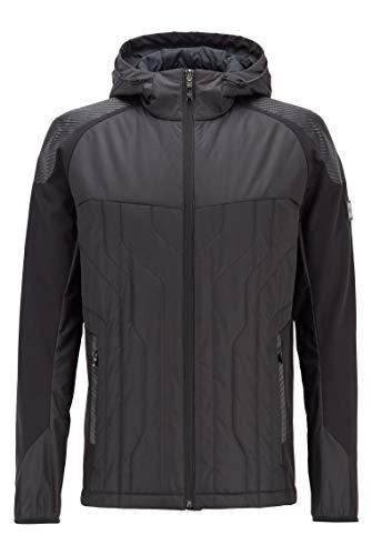 BOSS Herren J Cerro Wasserabweisende Jacke mit Wattierung und Carbon-Details