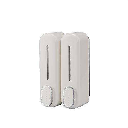 Dispensadores de Loción y de Jabón Dispensador de Ducha , montado en la pared de baño manual Dispensador de Ducha , desinfectante de la mano Dispensador Hotel con WC dispensador 350mlx2 dos en uno