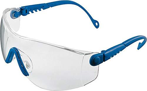 Honeywell 1000018 Op-Tema Safety Eyewear Frame with Clear Anti-Scratch Lens - Blue