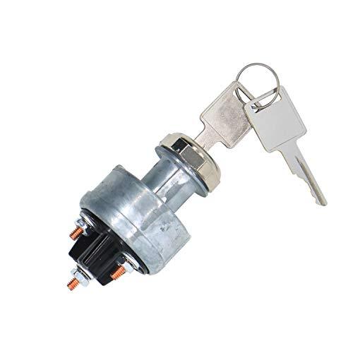 Interruptor de Encendido MG641833 641833 para New Hollan d Cargadora de L120 L125 L140 L150 L160 L170 John Deer e Patines 375 570 575 675 675B 3375 4475 5575 6675 7775 8875