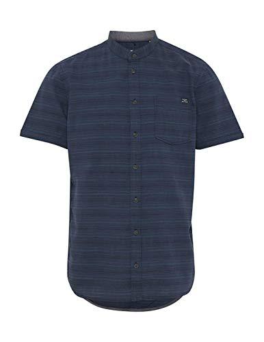 BLEND Camisa Bolsillo Denim Azul