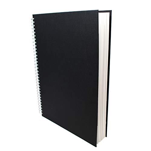 Artway Studio - Skizzenbuch mit Spiralbindung - säurefreies Zeichenpapier - Hardcover - 48 Blatt mit 170 g/m² - A3 Hochformat