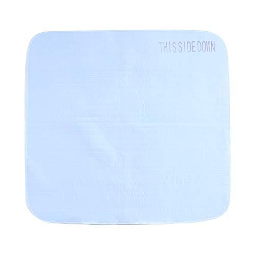 Almohadilla de incontinente, almohadilla de cama para incontinencia lavable y reutilizable, almohadillas de cama impermeables para mojar la cama, incontinencia, muebles, mascotas, 35.4 * 33.4in