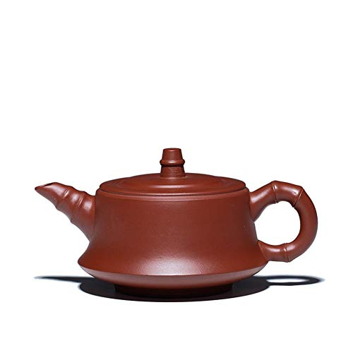 HuiLai Zhang Boutique Gift theepot erts Groot Rood Bamboe Plint Pot theepot Paarse modder