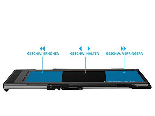 MAXOfit iTread intelligentes Laufband mit neuartiger Infrarot-Technologie   intelligente Geschwindigkeit-Anpassung ohne Knöpfe   klappbar und platzsparend   großes LCD-Display