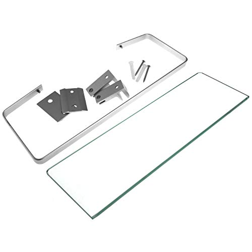 35 x 12 cm glazen badkamer douche plank Caddy rack rechthoek Organizer houder