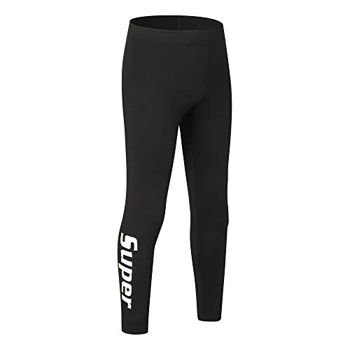 saraca core Girls' Youth Compression Pants Athletic Sports Legging Performance Tights