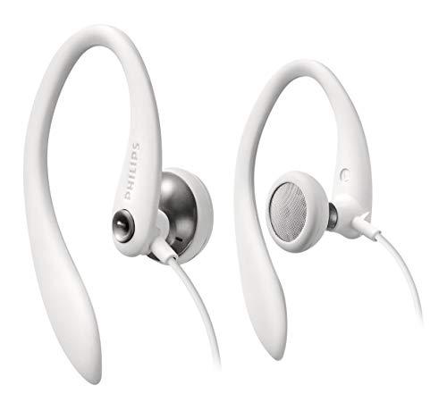 Philips SHS3300WT/10 - Auriculares deportivos (controladores de altavoces 27 mm, reducción de...