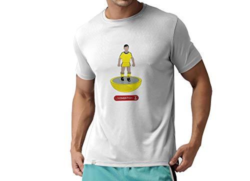 Livingston FC Novelty Football T Shirt, (Small)