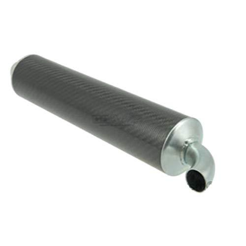 Endschalldämpfer Stage6 R1200 / R1400, schwarz carbon
