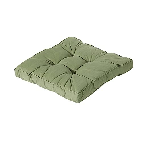 Madison Coussin de salon Basic Vert 60 x 60 cm