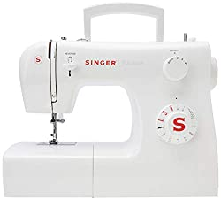 Easy to use 10 Built-In Stitches Automatic 4-Step Buttonhole 4 Snap-On Presser Feet All Singer sewing machines come with a two-year manufacturer guarantee.