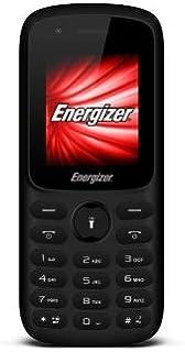 Energizer Energy E11 Feature Phone, 32 MB RAM, Dual Mini SIM - Black