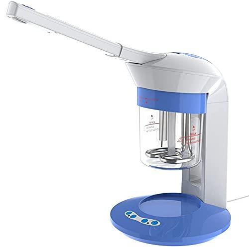 WM-MSMY Vaporizador Facial Rociador Vapor, 2 En 1 Facial Steamer Sauna Facial De Ozono Y Vapor Máquina De Vapor De Ozono con Spray Giratorio De 360 ° Vaporizador Facial para Salón De Belleza