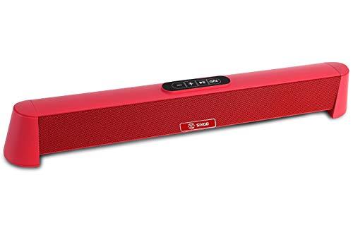 Sound Soundbar mit SIXGO 2.1 Kanal Kompakte TV 20 Zoll mit 6 EQ-Modi Bluetooth...