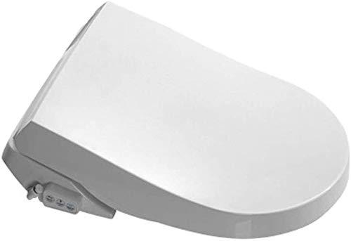 Dljyy Intelligent Smart Toilet Seat Bidet, Bidet Electric Digital Intelligent Toilet Seat, Heating Remote Control Seat, Warm Air Dry Deodorization Constant Temperature Disinfection