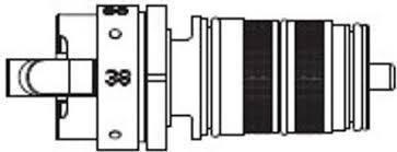 Tres Grifería 9194161 - Cartucho termostático + volante (para ref.: 1.90.150, 90.135, 90.194, 90.280, 90.290)