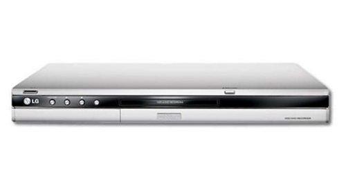 LG RH 7000 DVD-Rekorder mit Festplatte 80 GB Silber