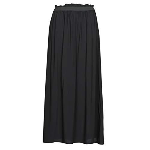 VERO MODA Damen VMBEAUTY Ankle Skirt NFS NOOS Rock, Black, L