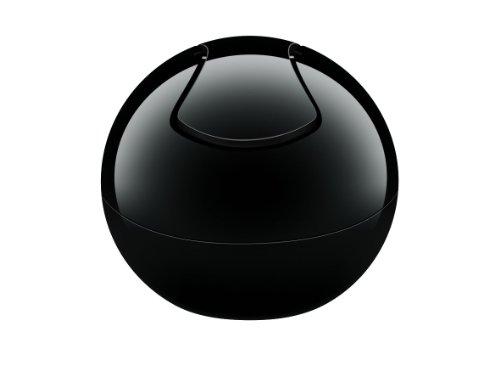 Spirella 10.15139 - Bowl-Uni pattumiera, Colore: Nero