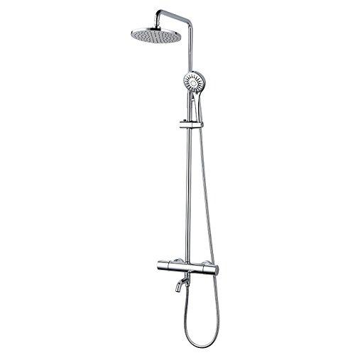 ZHGI Termostato intelligente doccia testa può essere sollevato e abbassato sopra la doccia doccia combinazioni di pacchetto
