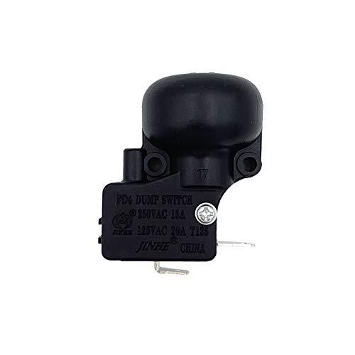 Meter Star THP-ATM - Calentadores de patio con interruptor de inclinación para calentador de patio, interruptor de volcado FD4 250 VAC 15 A, 125 VAC