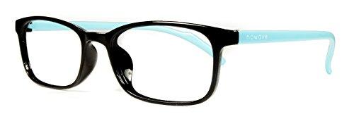 NOWAVE Neutralbrille für PC, Tablet, Smartphone, TV und Gaming. Beseitigt Ermüdung und Reizung der Augen. Ultra-leichtes Gestell. Accessoire für Büro und Schule/ Studium. Entspannende Brille mit 40% Schutz vor blauem Licht und 100%-igem UV-Schutz. PC-Bildschirm-Filter. ITALIAN STYLE 2017 - Tiffany