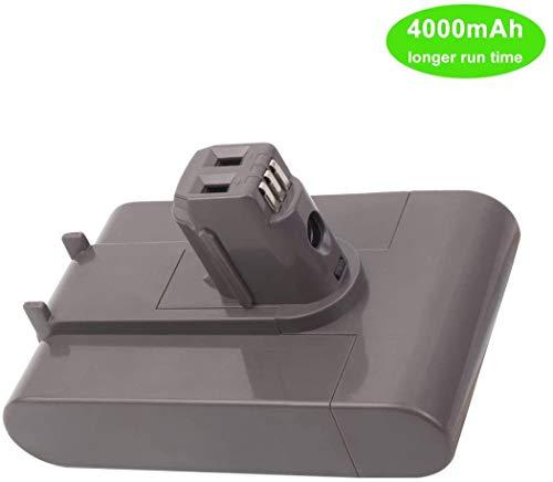 VANON Typ A 22,2 V 4000 mAh Ersatz-Akku für Dyson DC35 Li-Ion Akku DC31 DC34 DC44 917083-01 Handstaubsauger Batterie