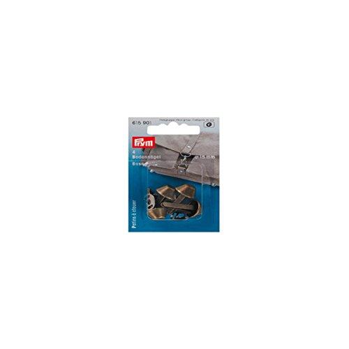 Prym 615901 - Bodennägel für Taschen 15 mm altmessing