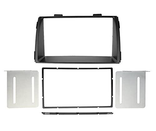 XIAOJIA Double DIN Steroe Panel Fit para KIA Sorento 2012-2017 Radio de automóvil Fascia Dashboard Instalación Reembolso Kit Kit de Ajuste CD DVD Bisel