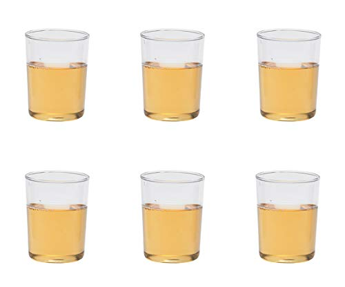 Trendglas Jena Teeglas ohne Henkel 6-er Set, konisch, je 0,22 Liter