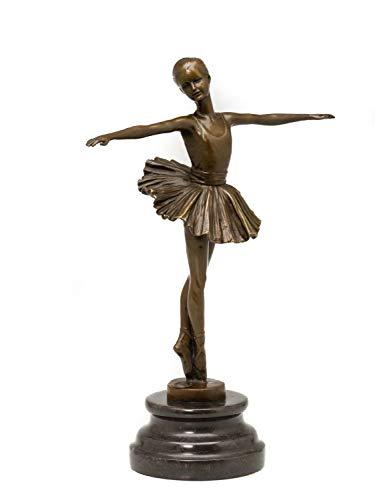 Escultura de Bronce según Degas réplica Copia Bailarina Estilo Antiguo (g)