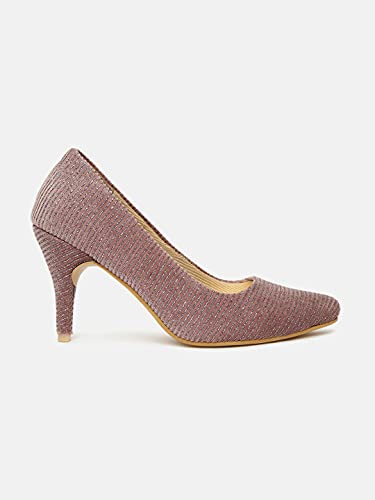 Marc Loire Women's Faux Leather Fashion Pointed Stiletto Heel Pump Shoes for Casual Wear, Party and Formal Occasions.