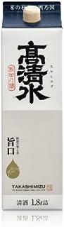 秋田酒類製造 高清水 サケパック [ 日本酒 秋田県 1800ml ]
